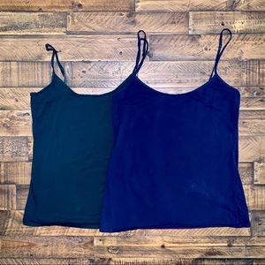 Old Navy green and blue tank top set
